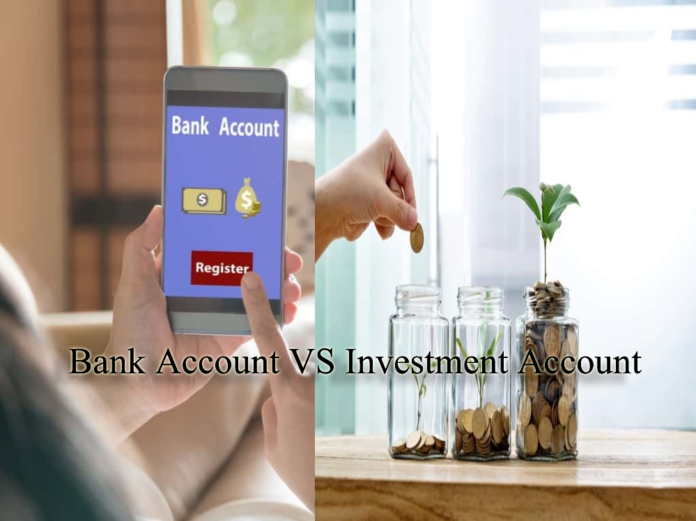 bank account vs investment account
