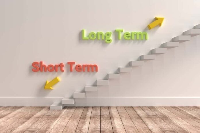 differentiate between short term & long term capital gains