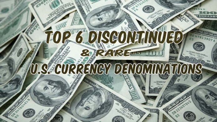 us currency denominations