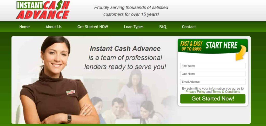 instant cash advance